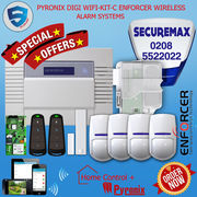 PYRONIX ENFORCER WIRELESS HOME ALARM SYSTEM DIGI WIFI KIT