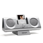 Intempo Ids04s Portable IPod Speakers and Charging Dock Silver